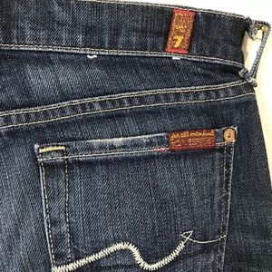 7 For All Mankind Jeans - 7 For All Mankind Straight Leg Jeans Size 26